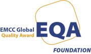 EMCC accreditation logo EQA colour clear background F